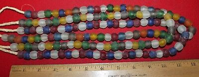 (3) Strands of Colorful Glass Trade Beads