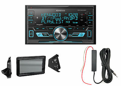 Kenwood Digital Media Radio, Metra Polaris Splash Guard, 12 Volt Signal Booster