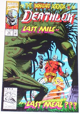 Deathlok #15 from Sep 1992 VF+ to NM-