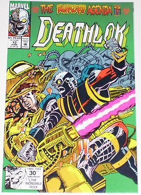 Deathlok #12 from June 1992 VF to VF/NM