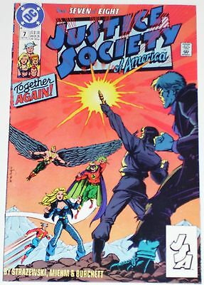 Justice Society of America #7 from Oct 1991 F to F/VF