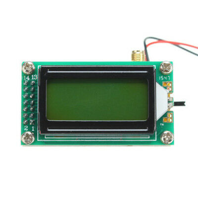 DIY High Accuracy 1-500 MHz Frequency Counter Module Tester LCD Display Striking