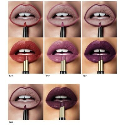 Pudaier Double Ended Sexy Lasting Matte Waterproof Lip Liner and Lipstick Pen