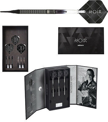 Darts UNICORN Gary Anderson World Champion NOIR Softdarts - Dart Set