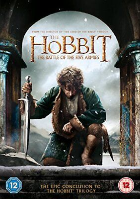 The Hobbit: The Battle of the Five Armies [DVD] [2015] -  CD MOVG The Fast Free