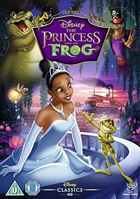 The Princess and the Frog [DVD] -  CD 5WVG The Fast Free Shipping