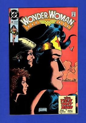 Wonder Woman #41 Nm 9.4 High Grade Copper Age Dc Comic
