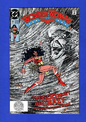Wonder Woman #51 Nm 9.4 High Grade Copper Age Dc Comic