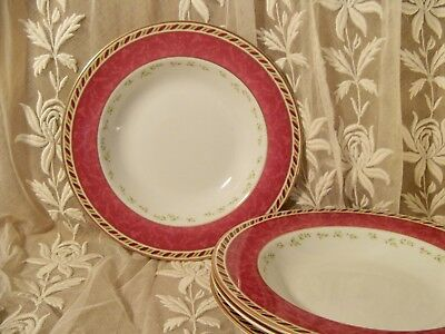 ROYAL ALBERT OLD COUNTRY ROSES SEASONS OF COLOR 2006 Set of 4 Soup Bowls