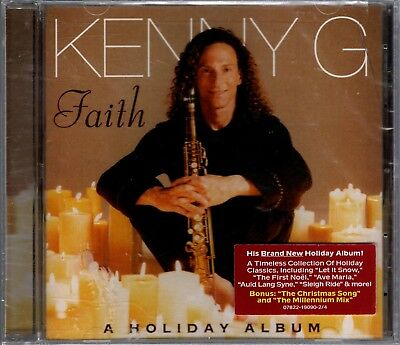 Kenny G Christmas.Kenny G A Holiday Album Cd 1999 Christmas Arista Sealed