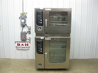 Henny Penny Gas Classic Combi Steamer Convection Oven w/ Stainless Steel Stand