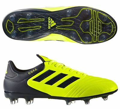 7e7112409 Adidas Copa 17.2 Fg Soccer Cleats Solar Yellow Legend Ink S77137 Mens Size  10.5