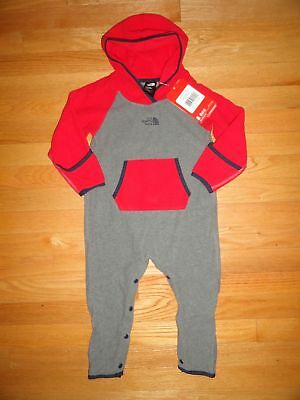 b8abe94ef THE NORTH FACE Boys Glacier Track Jacket Fleece Baby Toddler 2 2T ...