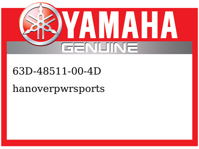 Yamaha OEM Part 63D-48511-00-4D HOOK, STEERING