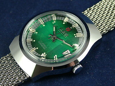 Vintage Retro Elpar Swiss Gents Mechanical Watch Serviced New Old Stock 1970s