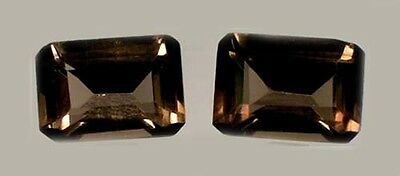 19thC Antique Scotland 2ct Cairngorm Smoky Quartz Sacred Magic Gem of Druids