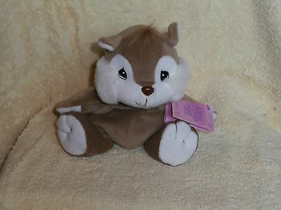 Precious Moments Tender Tails Plush Squirrel-1999-NWT