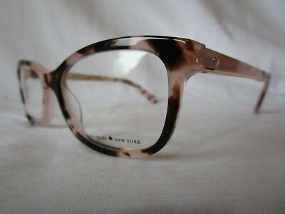 f8dedffef7 Kate Spade Eyeglass Frame Angelisa 0S14 Pink Havana 51-15-135 New    Authentic