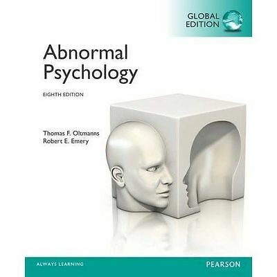 Abnormal Psychology, Global Edition by Emery, Robert E., Oltmanns, Thomas F.   P
