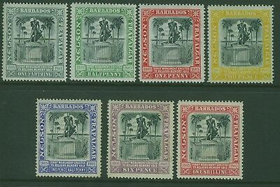 SG 145/51 Nelson Centenary set of 7 MLH