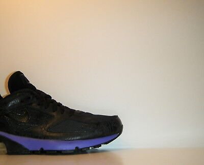 fd9bcf2ce0 2005 Nike Air Max 180 Powerwall Black Purple 9.5 CDG Cowboy Opium  314200-002 1