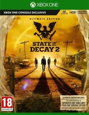 State of Decay 2: Ultimate Edition (Xbox One) VideoGames