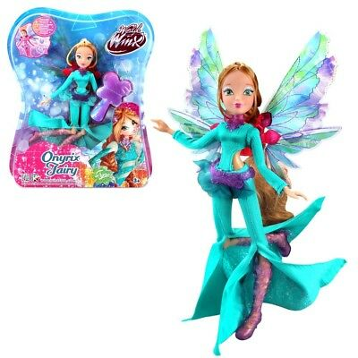 Flora | Onyrix Fairy Puppe | Winx Club | World of Winx | Magisches Gewand