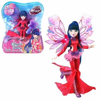 Musa | Onyrix Fairy Doll | Winx Club | World of Winx | Magical Robe | 28 cm