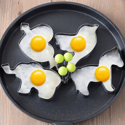 Fashion Stainless Steel Lovely Shape Mold for Egg Pancake Kitchen Cooking Tools