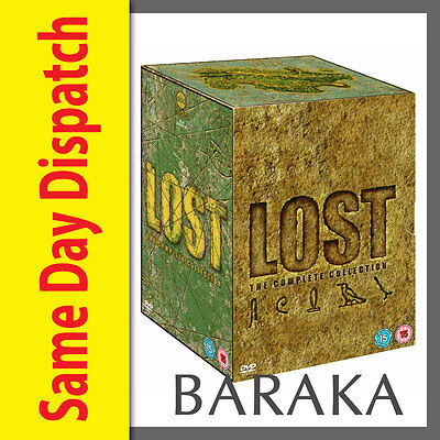 """LOST - THE COMPLETE SEASONS 1,2,3,4,5, 6 DVD BOX SET NEW R4 """"Clearance"""""""
