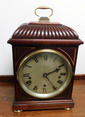 mahogany cased 5 coil gong westminster bracket clock retailed by byrne liverpool