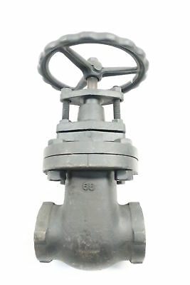 Walworth Manual Iron Threaded Wedge Gate Valve 2in Npt 200wog