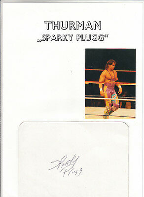 Wrestling - THURMANN SPARKY PLUGG - WWF