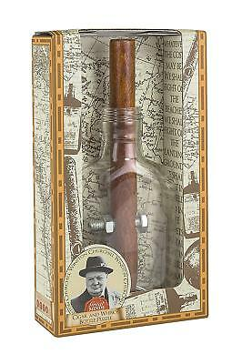 Churchill's Cigar and Whisky Bottle Puzzle: Professor Puzzle Great Minds Wooden