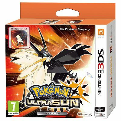 Pokemon Ultra Sun Fan Edition (3DS)  BRAND NEW AND SEALED - QUICK DISPATCH