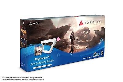 PlayStation 4 VR Aim Controller Farpoint Bundle [Sony PS4 PSVR Game Accessory]