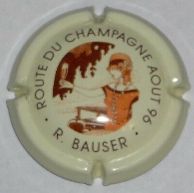 Capsule de Champagne: Extra !!!  BAUSER  , Route du champagne 1996 , n°20