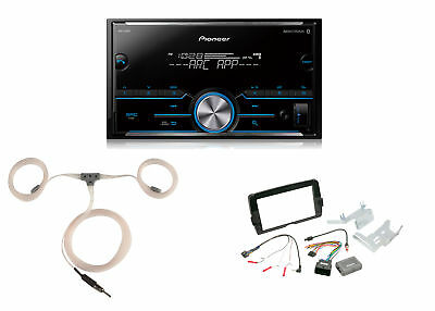 Pioneer Bluetooth Stereo, Install Kit, Marine Antenna (Fits 2014-Up Harleys)