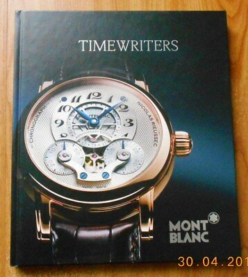 Catalogue 2011 MONTRES MONTBLANC 92 pages TBE