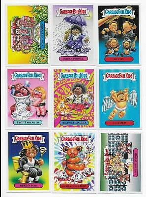 2017 Garbage Pail Kids GPK Battle of the Bands Complete Set  180 Cards