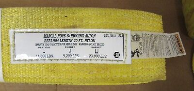 Marcal Rope & Rigging Alton EEF2-904 LENGHT 20 Ft L; Vertical: 11,500 lb  [ 9E]