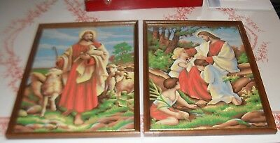 Vintage Lot Craftint 600 Paint By Number Religious Jesus Last Supper