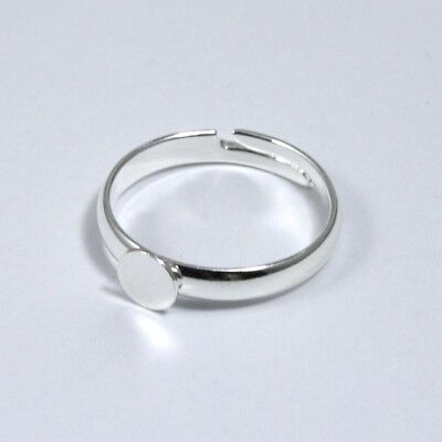 Small Silver Ring Base #MRB014