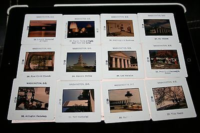 Vintage  ~Travel Slides~ Washington D.c.~ 40 Slides~