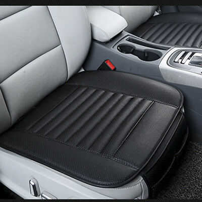 3D Car Seat Cover Breathable PU Leather Pad Mat for Universal Auto Chair Cushion