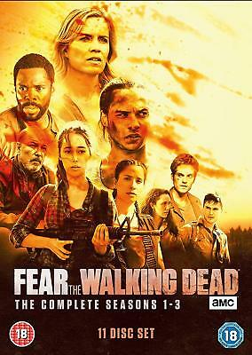 Fear The Walking Dead: The Complete Seasons Series 1, 2 & 3 DVD Box Set New