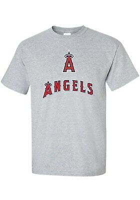 """ ANAHEIN ANGELS "" MLB   INSPIRED      T SHIRT    Baseball  tee  MANY COLOURS"