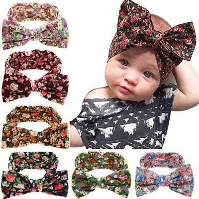 NEW 6PCS Kids Girl Baby Toddler Infant Flower Headband Hair Bow Band Accessories