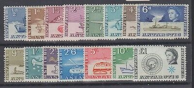 BRITISH ANTARCTIC TERR. 1-15 First set compl. mint 1963