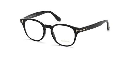 e928d4184f2 AUTHENTIC TOM FORD FT5178-F 001 Shiny Black Eyeglasses -  299.99 ...